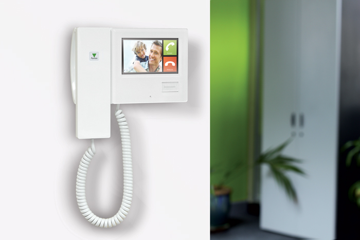 door entry system with phone