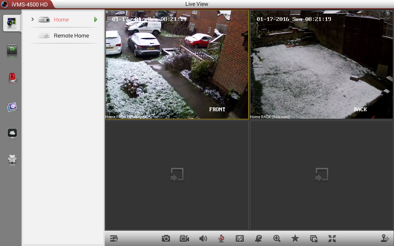 home security camera app